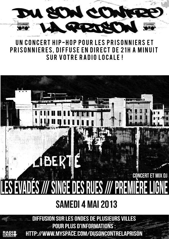 DU SON CONTRE LA PRISON 2013